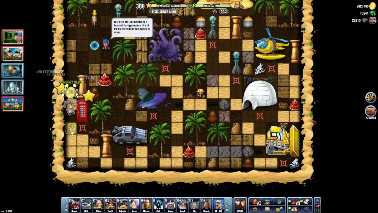 Pixel Server Room Diggy S Adventure
