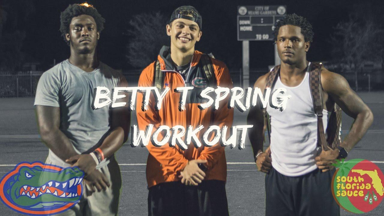 Soflo Sauce Gators Football Betty T Spring Workout Antonio