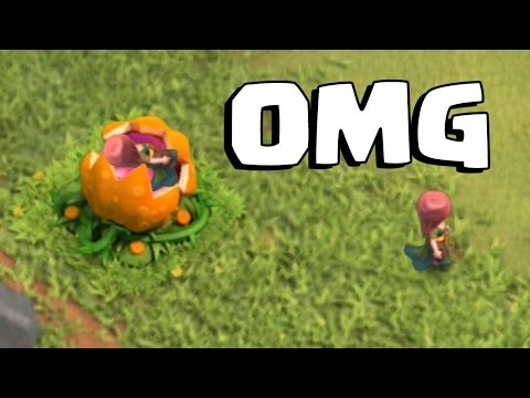 SCARY PUMPKIN EATS VILLAGER | Clash of Clans | 3 Star Farming on Halloween