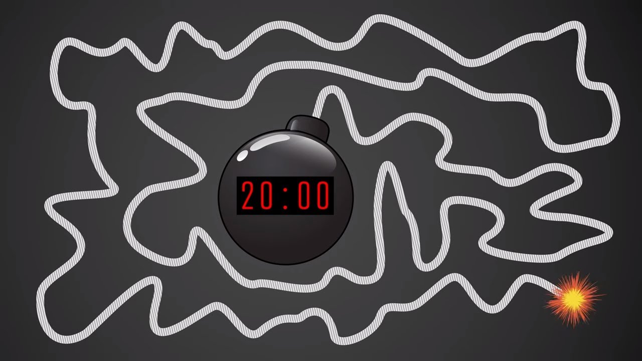 Download 20 Minute Timer BOMB 💣 With Giant Bomb Explosion
