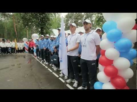 Фильм о зональных играх Спартакиады Газпрома