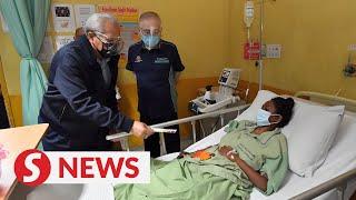 LRT mishap: Last severely injured victim returns home