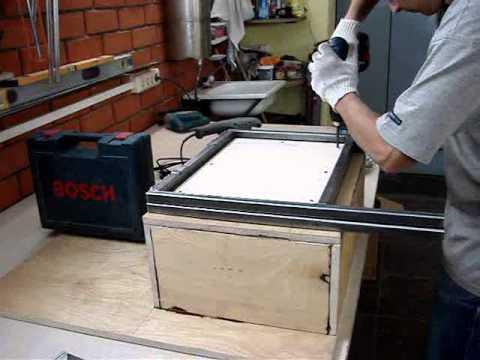 Вакуумная формовка своими руками видео