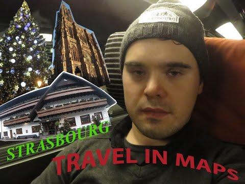 TRAVEL IN MAPS  - Direction pour Strasbourg - Décembre 2016