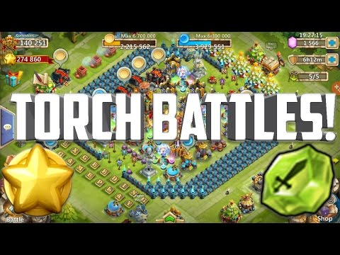Castle Clash: Torch Battles | That Was Quick!