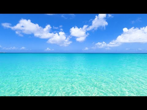 4K Virtual Vacation: 6 Hours of Crystal Clear Water & Relaxing Ocean Sounds