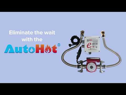 AutoHot On Demand Recirculation Hot Water Fast