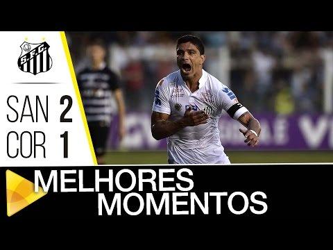 Santos 2 x 1 Corinthians | MELHORES MOMENTOS | Brasileirão (11/09/16)