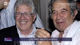 L'estremo saluto a Fred Bongusto - La vita in diretta 11/11/2019
