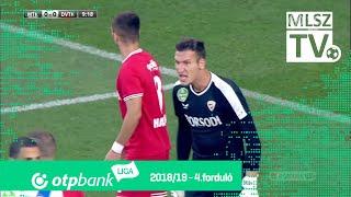 MTK Budapest - DVTK | 1-0 (0-0) | OTP Bank Liga | 4. forduló | 2018/2019