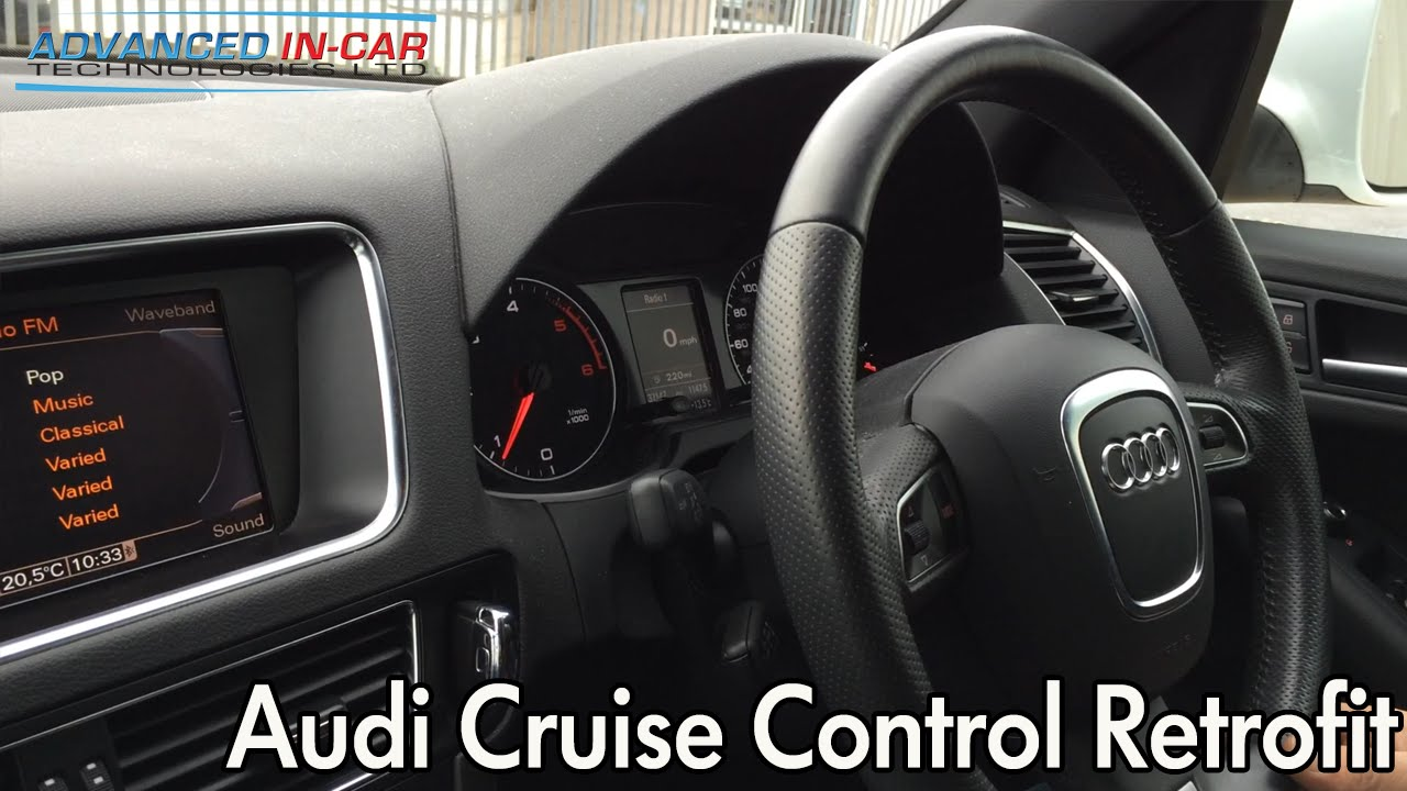 audi cruise control retrofit youtube