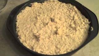 Hot Crab Dip & Baked Pita Chips Recipe