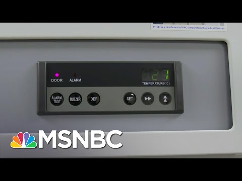 First Look Inside SD Hospital Where Ultracold Storage Units Will Freeze Pfizer Vaccine   MSNBC