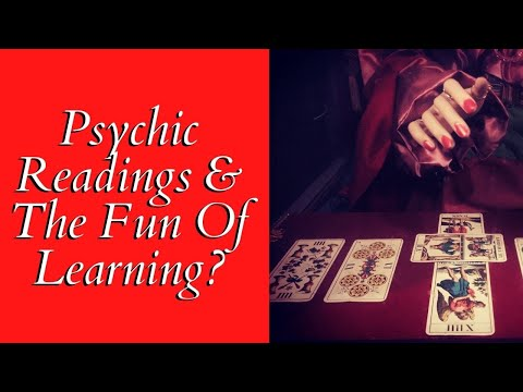 Psychic Readings And The Fun Of Learning 🔮