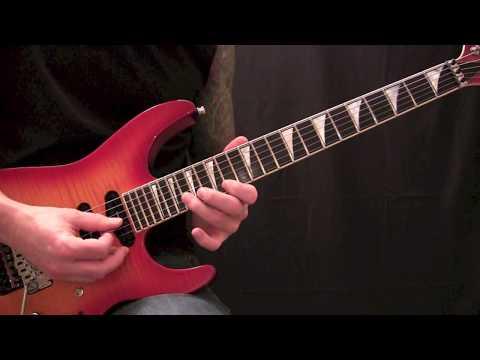 Queensryche - Jet City Woman - Guitar (Solo) Lesson