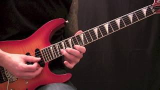 Queensryche - Jet City Woman - Guitar (Solo) Lesson