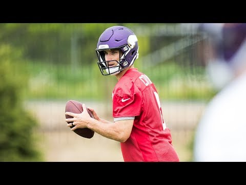 Kirk Cousins Mic'd Up Moments at OTAs | Minnesota Vikings Wired for Sound