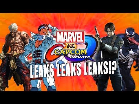 LEAKS, LEAKS & LEAKS...Are They Real? Marvel Vs. Capcom Infinite Leak Info Breakdown