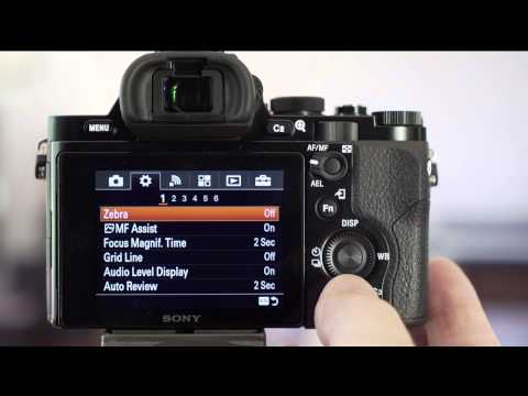 Sony Alpha A7 / A7R Custom Settings Tutorial