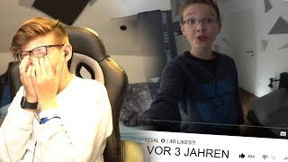 Ich REAGIERE auf meine ALTEN VIDEOS... *cringe* 2 - Daily Vlog 15