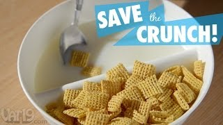No More Soggy Cereal