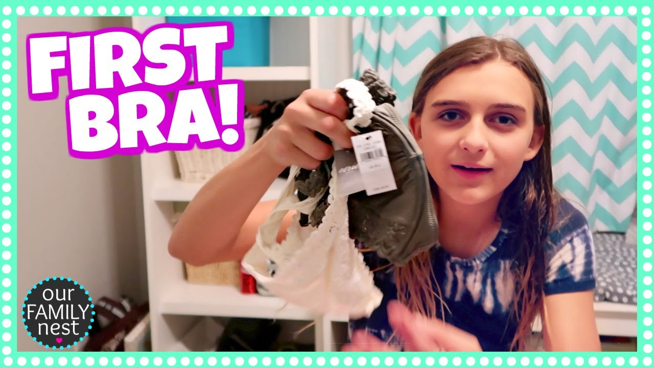 1aee1cce93 BUYING HER FIRST BRA! - YouTube