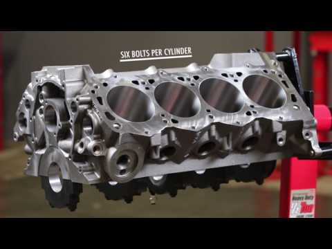 World Products Small Block Ford Man O' War Engine Blocks