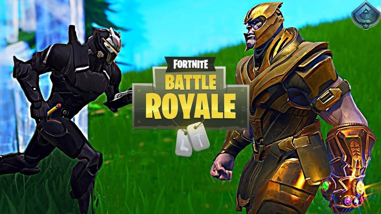 Fortnite Battle Royale How To 1v1 Thanos Youtube