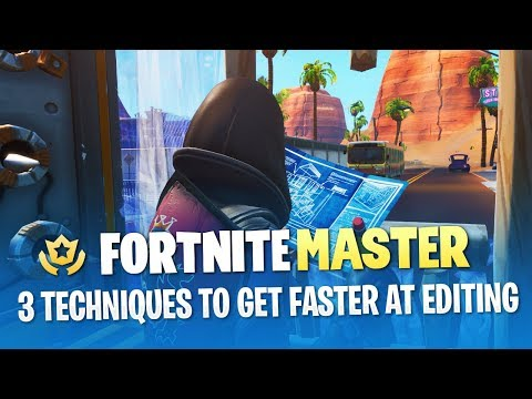 3 Techniques to Get Faster at Editing (Fortnite Battle Royale)