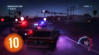 NEED FOR SPEED PAYBACK Walkthrough Gameplay Part 10 - The Cop Chase