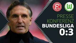 """""""Im richtigen Moment das Tor gemacht""""   Pressekonferenz   Fortuna Düsseldorf - VfL Wolfsburg"""