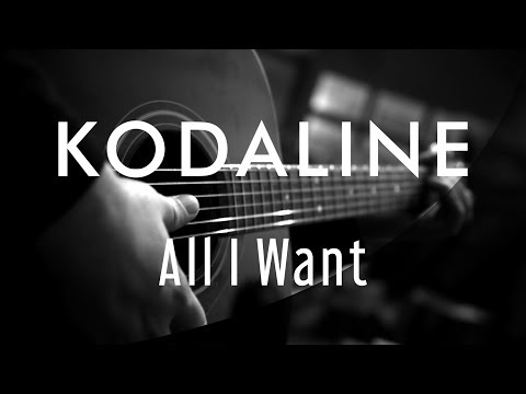 Kodaline - All I Want ( Acoustic Karaoke )