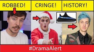 MrBeast ROBBED! #DramaAlert Ninja Sneaker deal ? Cringe Paul!