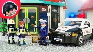 Playmobil Feuerwehr wird kriminell! Playmobil Polizei Film - KARLCHEN KNACK #201