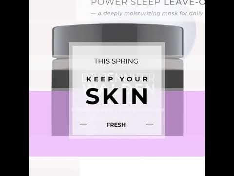 New Product Alert! Power Sleep Leave on Mask