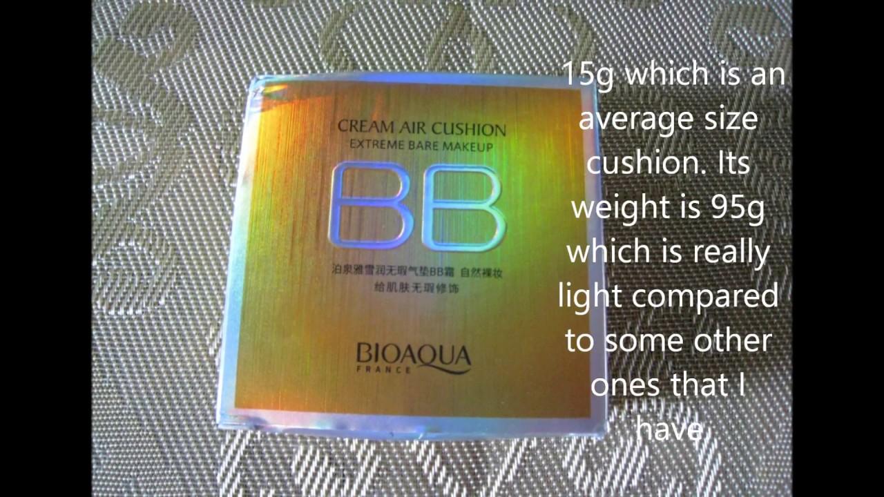 Bioaqua Air Cushion Bb Cream Moisturizing Makeup Review By Elgr Nail Bio Aqua Aircusion Art Health And Beauty Pages