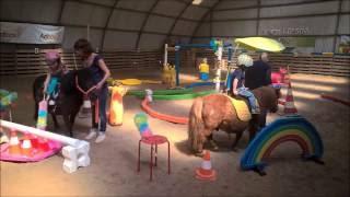 Liège - équimotricité (c) et cours d'  équitation avec notre nouveau matériel