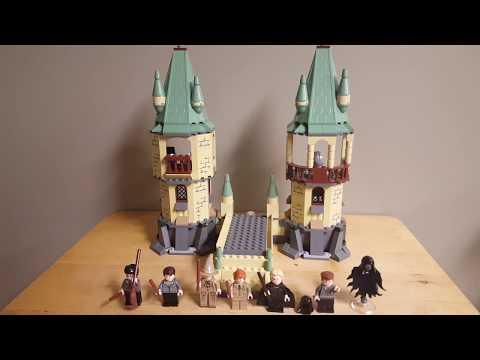 Retro Reviews #1: LEGO Harry Potter 4867 The Battle for Hogwarts (2011) Review!