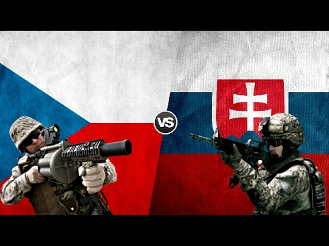 CZECH REPUBLIC VS SLOVAKIA - Military Power Comparison 2017