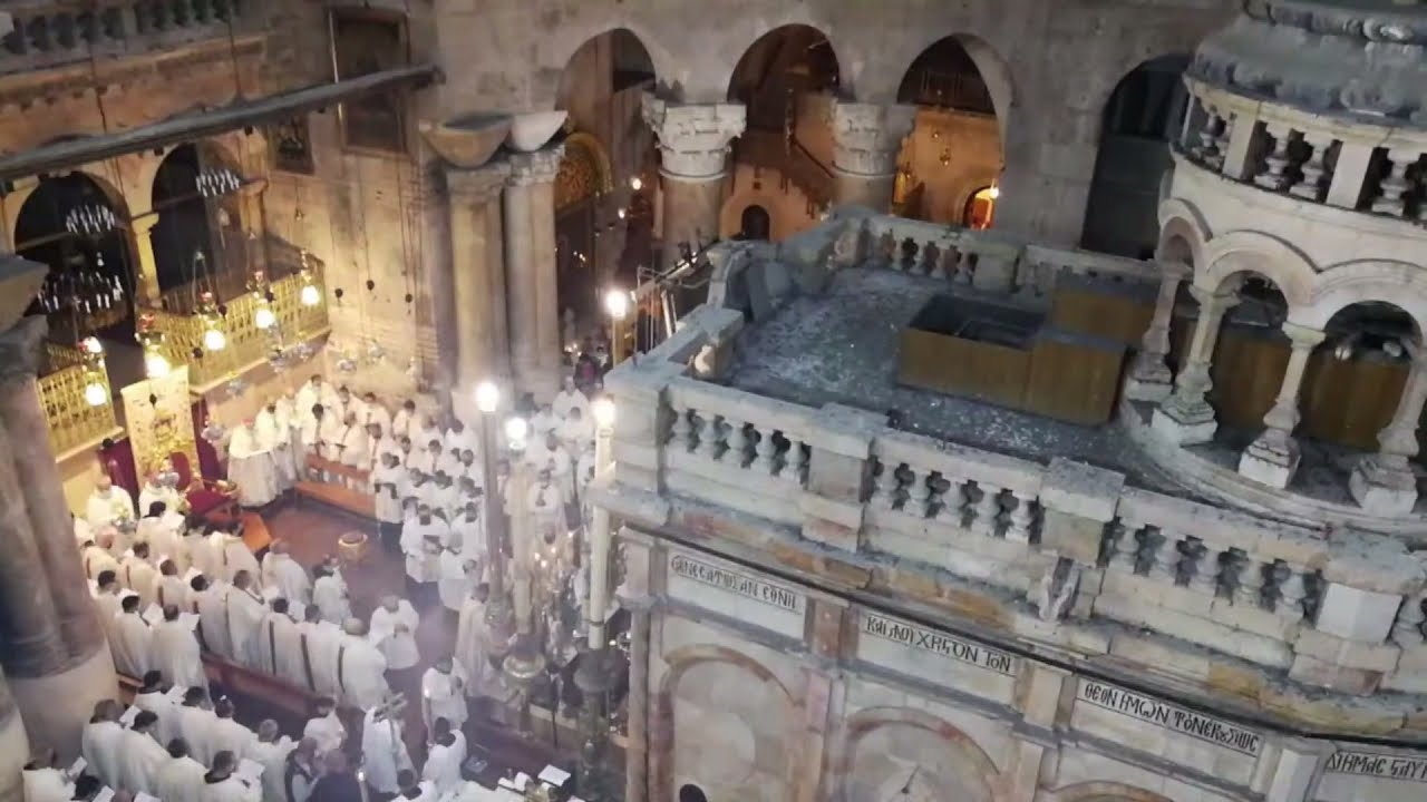 Holy Thursday Mass from the Holy Sepulchre