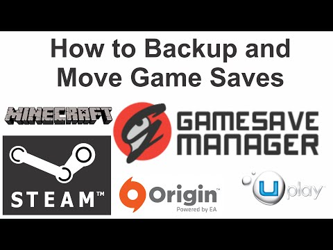 Backup And Move Game Saves Gamesave Manager Tutorial