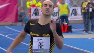 Men's 400m at Meeting Citta di Padova 2018