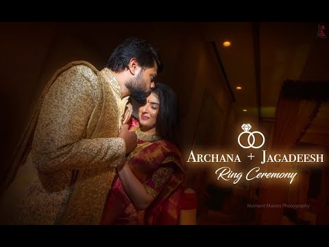 Actress Archana 💕Jagadeesh ! Ring Ceremony ! Moment Makers