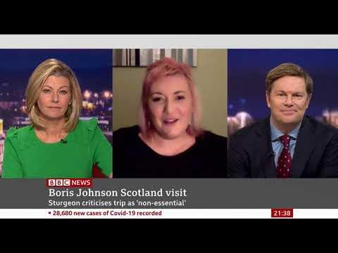 Our Chief Executive Pamela Nash on BBC News