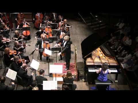 Grieg Piano Concerto, mov't 1  Martina Filjak, piano