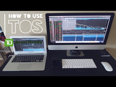 How To Use TD Ameritrade ThinkorSwim Platform | Setting Alerts, Watchlist,  Indicators