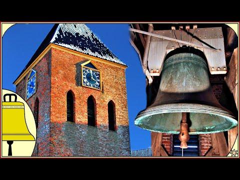 Zeerijp Groningen: Van Wou Kerkklokken Hervormde kerk (Glocke 1 & 2 Plenum)  (Better sound Quality)