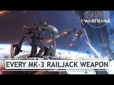 Warframe: EVERY MK-3 Empyrean Weapon & Railjack Set Up [thedailygrind]