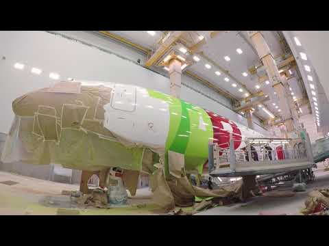 Os primeiros dois Airbus A330neo com pintura TAP // The first two Airbus A330neo with TAP livery