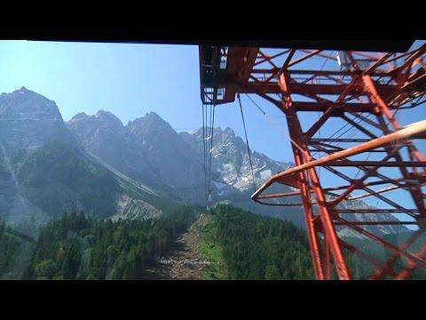 Zugspitze - neue Seilbahn vom Eibsee bis auf Deutschlands höchsten Bergs